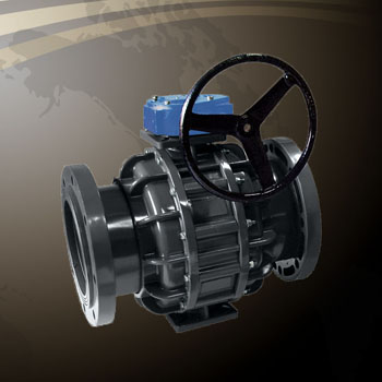 Ball Valve - Gear Type