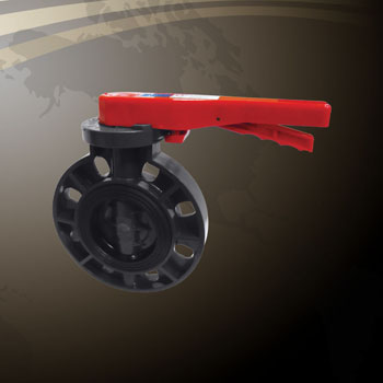 Butterfly Valve - Lever Handle