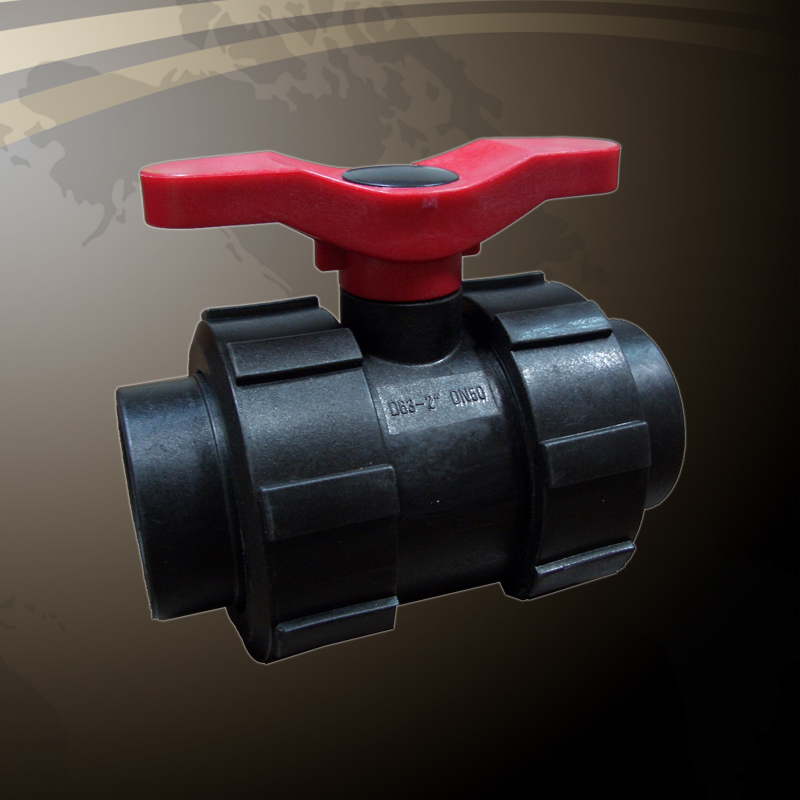 Double Union Ball Valve